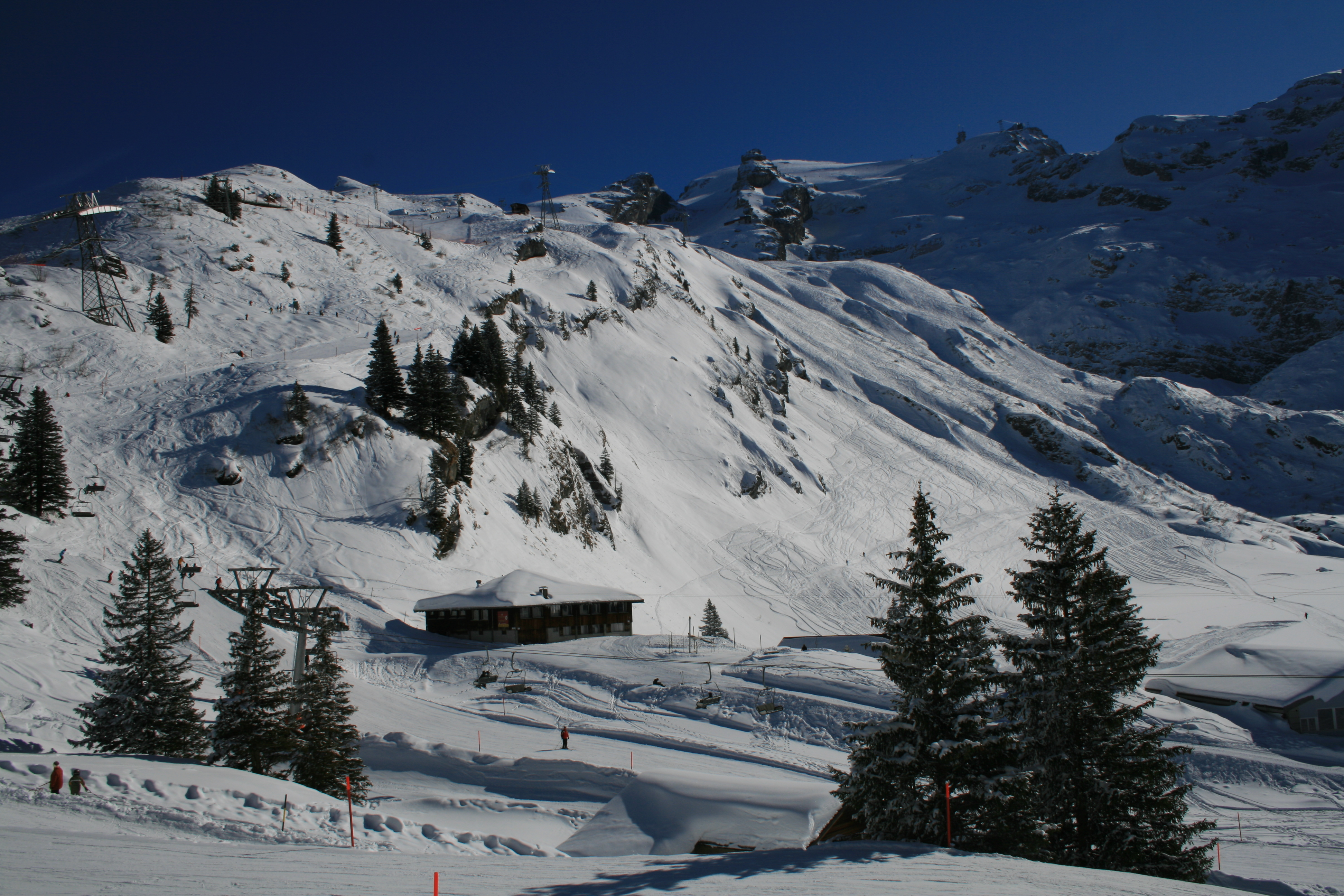 Chalet Trübsee Winter